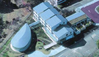 日本大学生物資源学部西富士校地宿泊棟
