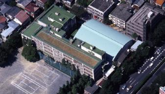 杉並区立高円寺中学校体育館